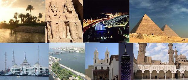 موقع مصر الجغرافى المتميز وتأثيره على السياحة