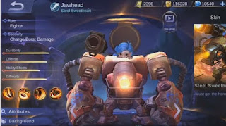 Build Item Jawhead Mobile Legends Terbaik