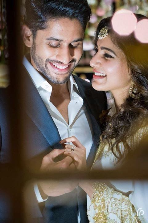 Naga Chaitanya, Samantha Engagement Ceremony Photos