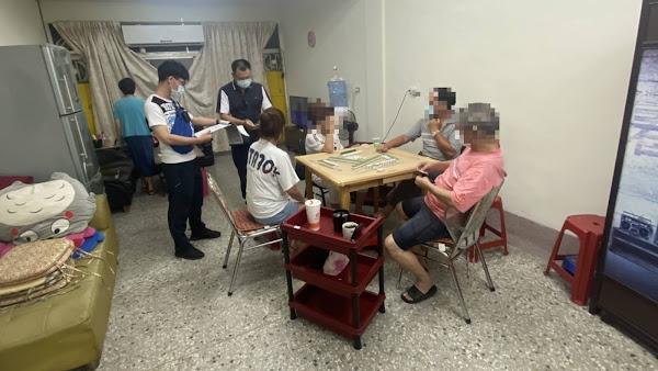 群聚賭博賭性堅強 彰警斬斷麻將牌咖傳染鏈