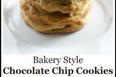 Recipe - Bakery Style Chocolate Chip Cookies