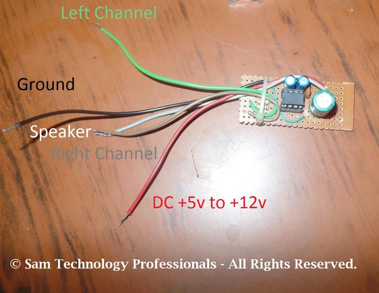 Low Voltage Audio Power Amplifier Lm386 Lm386n Dip 8 Amplifier Circuit