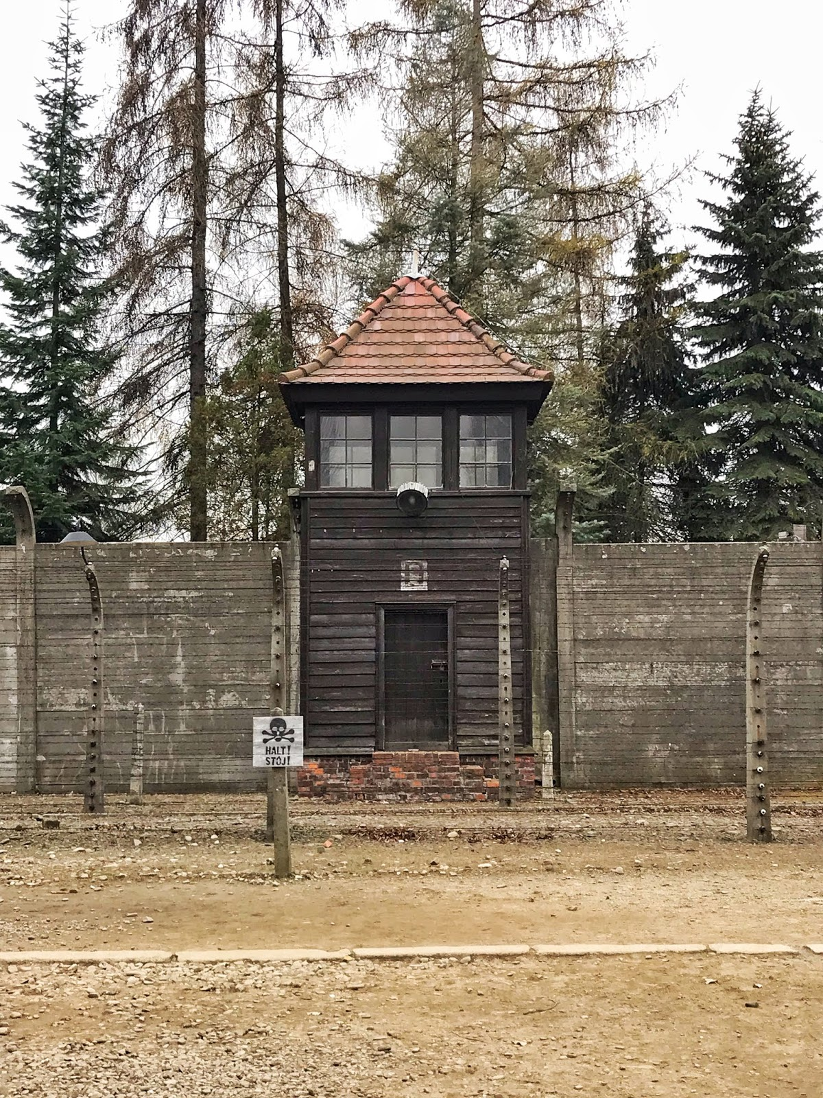 Photo of Auschwitz Concentration Camp