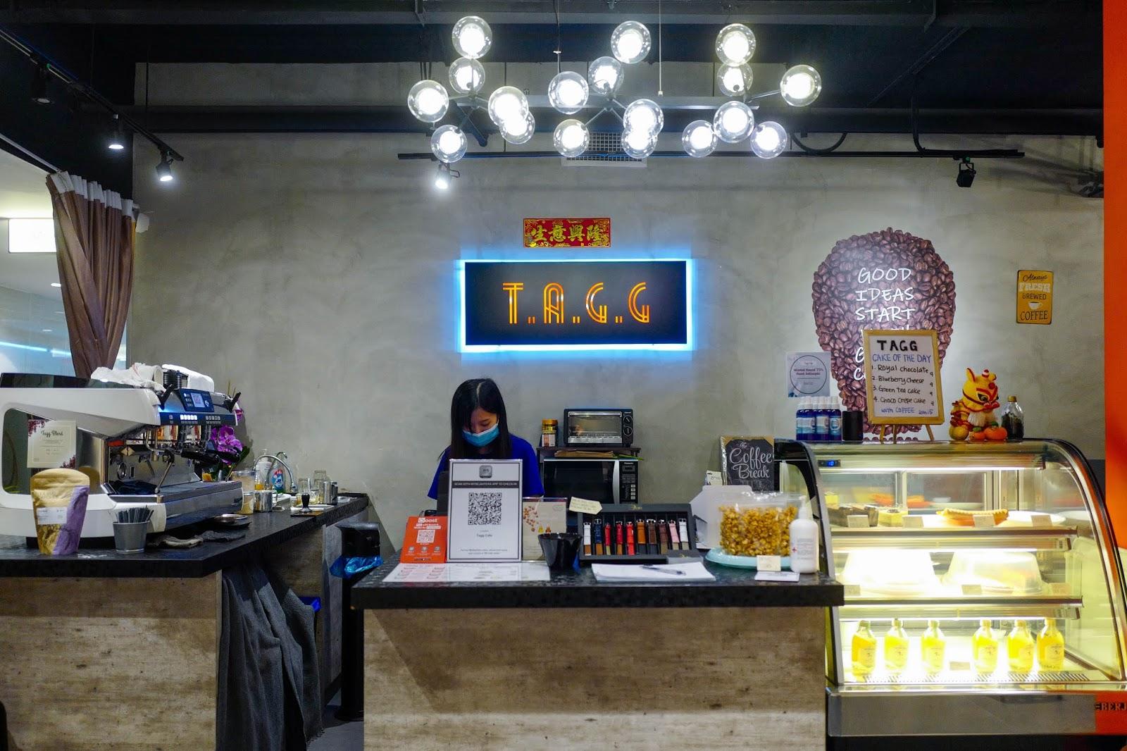 tagg cafe, wisma lim foo yong