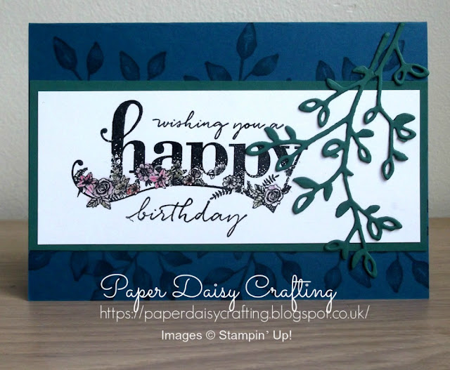 Happy Wishes from Stampin' Up!