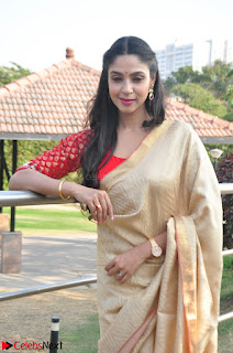 Angana Roy in Silk Saree at Teaching Tree Carnival .xyz 012.JPG