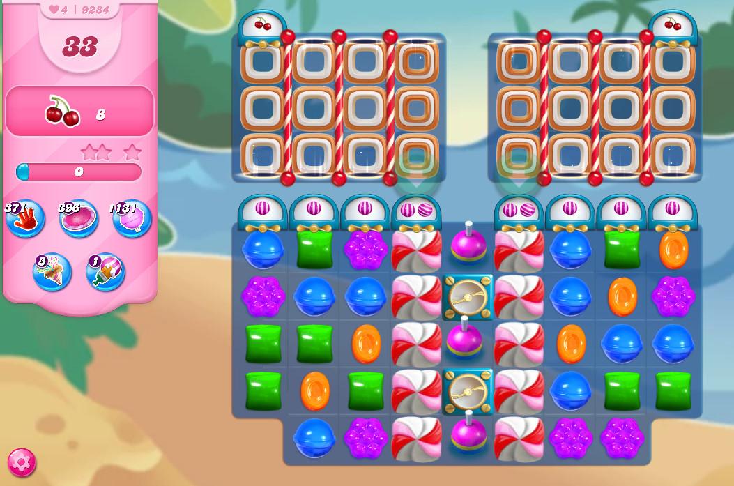 Candy Crush Saga level 9284
