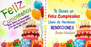 🥳 Imágenes y Tarjetas de Feliz Cumpleaños Cristianas