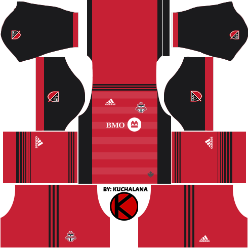 online store 680ff 4ec49 Toronto FC Kits 2017 - Dream League Soccer - Kuchalana
