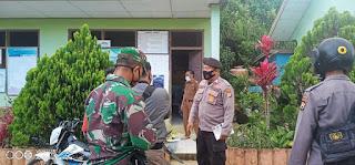 Sambang Desa Binaan, Bhabinkamtibmas Sampaikan Himbauan Kamtibmas dan Prokes