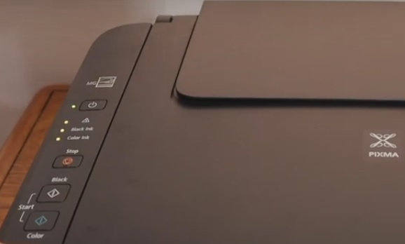 Error code on the printer Canon MG2500 and how to fix it