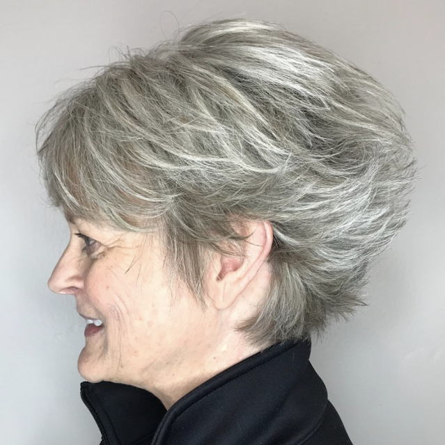 short hairstyles for over 50 fine hair 2019