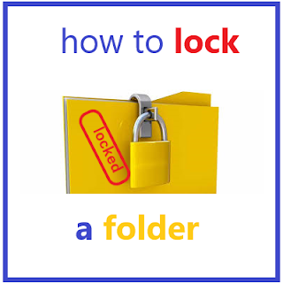 How To Put A Password On A Folder -- Without Using A software-Windows 10