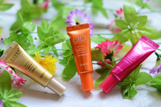 Skin79 bb gold, orange, pink