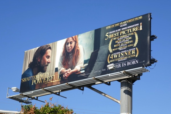 A Star is Born For your consideration billboard