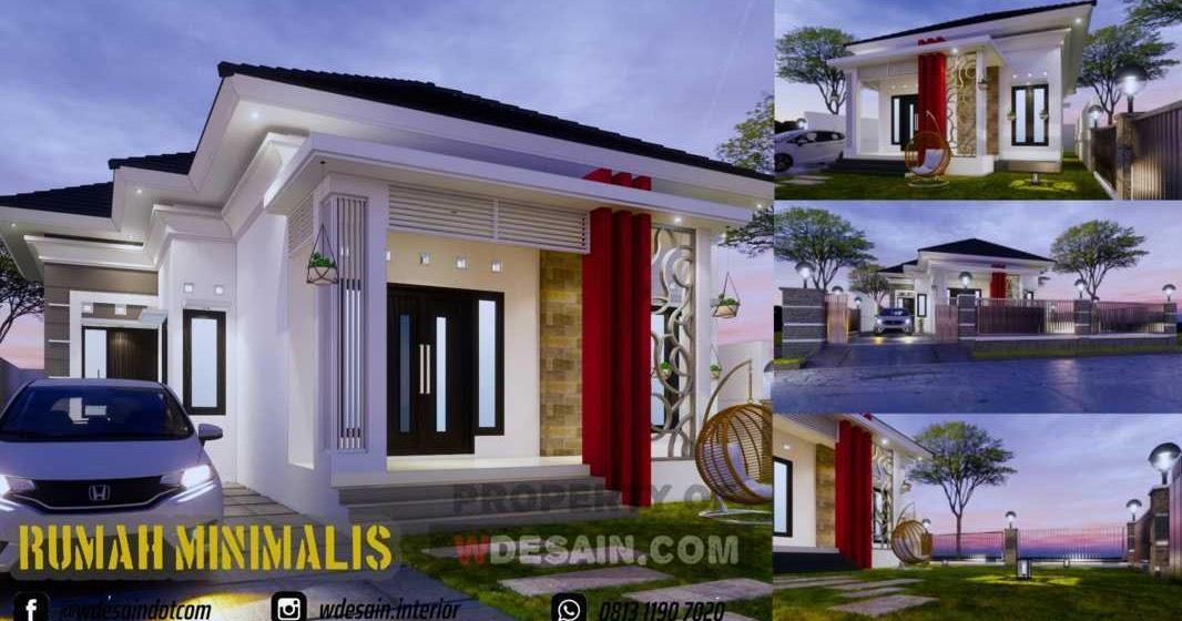 Desain Teras Rumah 5 X 12