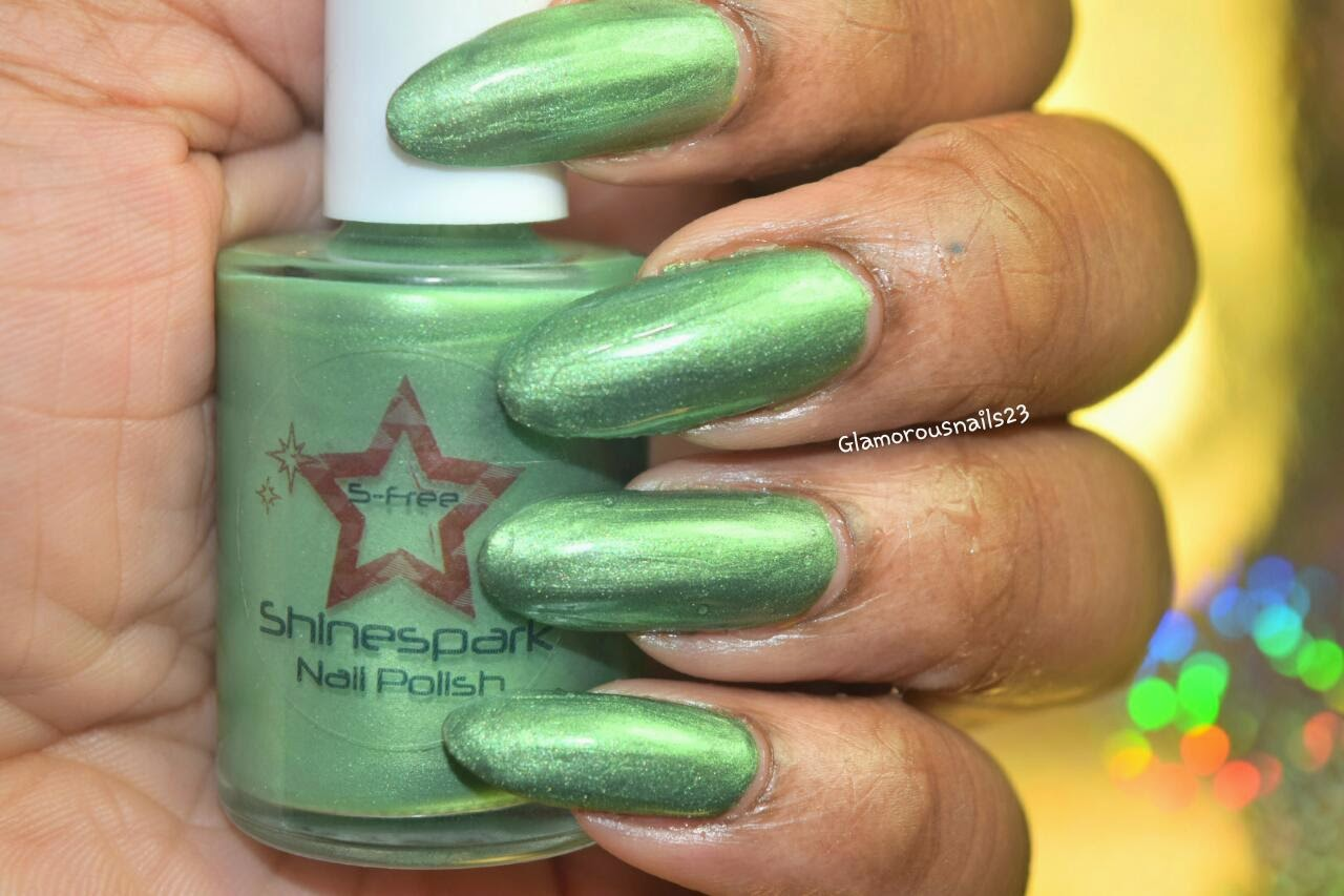 Shinespark Polish Hummingbird Swatch