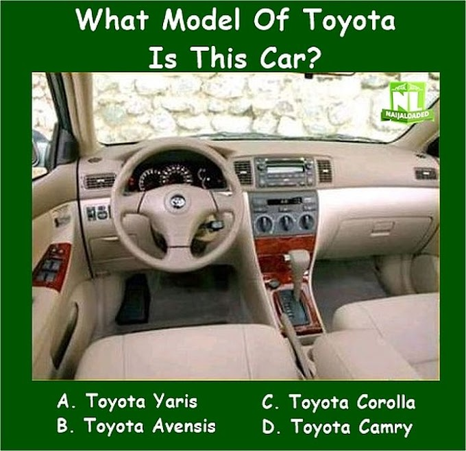CAR LOVERS!! What Model Of Toyota Is This Car? (99% Will Surely Fail This)