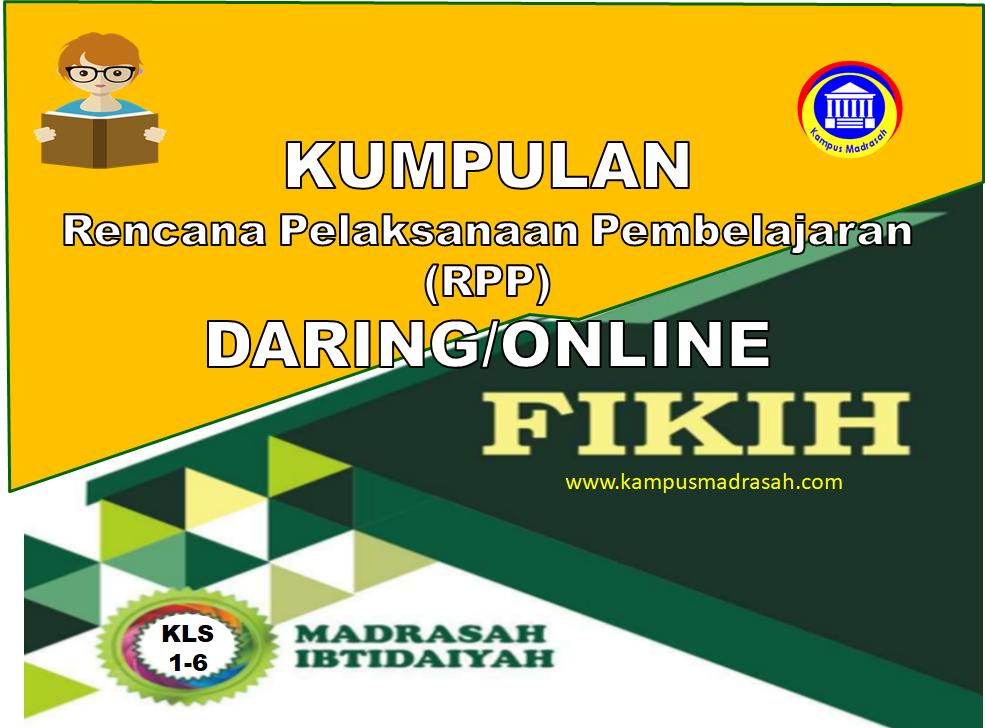 Contoh RPP Daring FIQIH Kelas 1 2 3 4 5 6