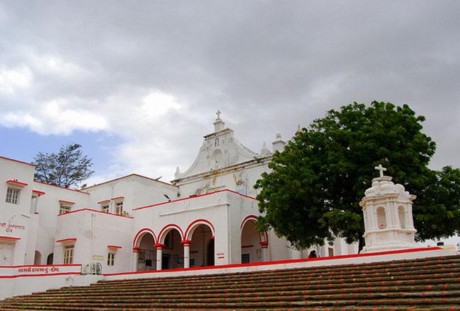 Church of St Francis of Assisi Diu, India