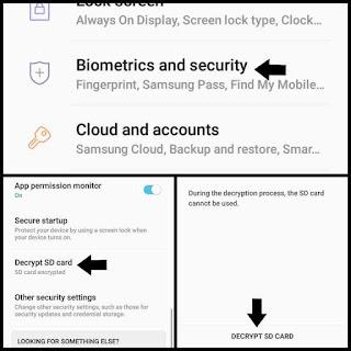 Cara dekripsi kartu memori di android
