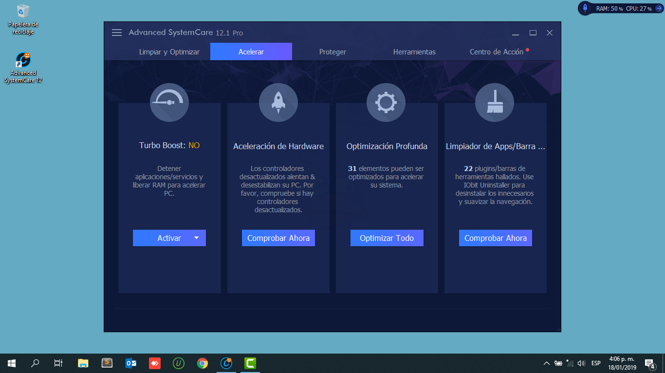 Advanced SystemCare Pro v12