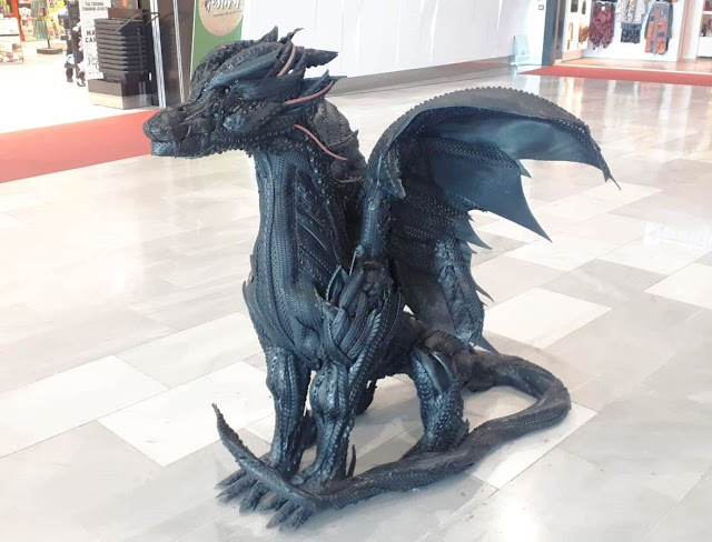 FUE%2BFT%2BExposici%25C3%25B3n%2BRuplares%2B6 - El Aeropuerto de Fuerteventura acoge una exposición de esculturas realizadas con neumáticos realizadas por Ruplares