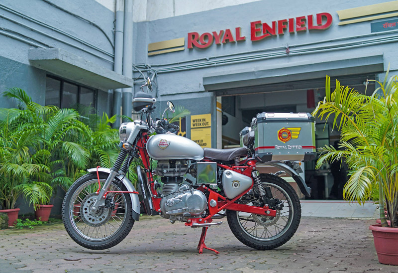 Service on Wheels by Royal Enfield