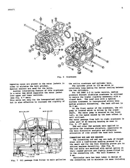 SUBARU NEW HORIZONTALLY OPPOSED 4-VALVE ENGINE