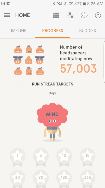 Headspace is only for Meditation and it is paid app