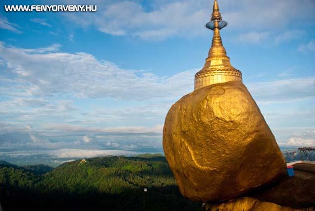 Az arany-szikla rejtélye