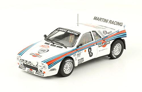 collezione rally monte carlo Lancia 037 Rally 1984 Attilio Bettega - Maurizio Perissinot