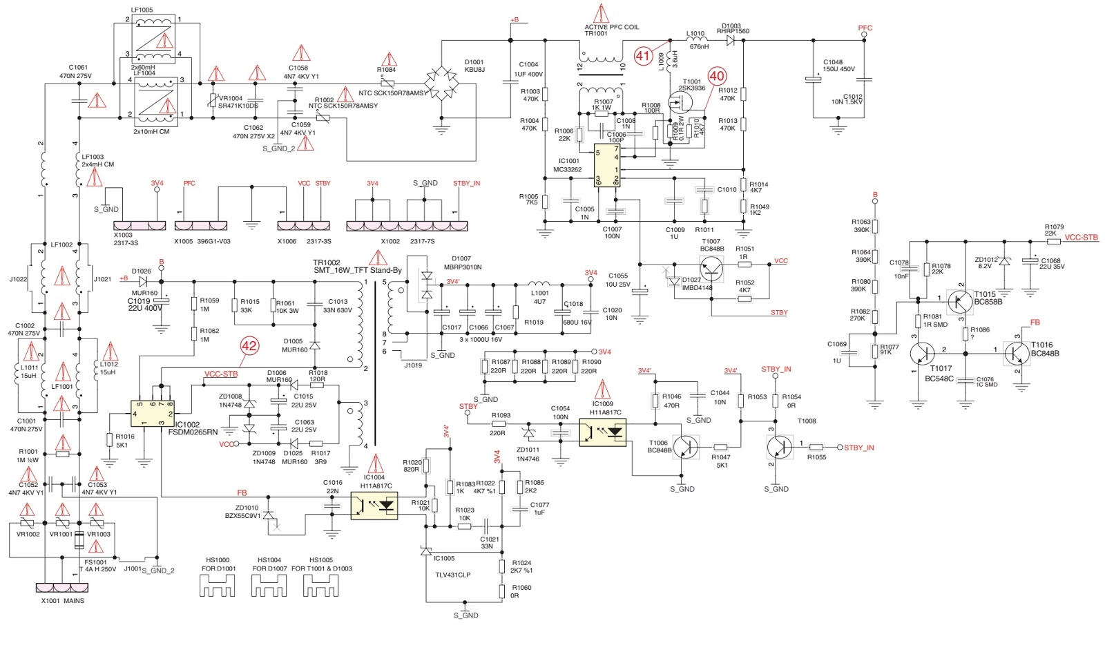 grundig lcd tv smps schematics circuit diagrams electronic besides live sound system setup diagram on tv schematic block diagram [ 1600 x 957 Pixel ]