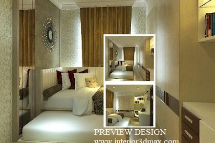 Design Interior Kamar Tamu Apartemen
