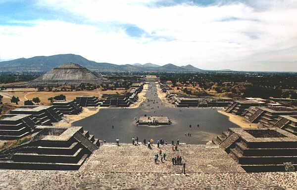 Edificios Zona Arqueológica Teotihuacan