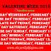 Valentine Week 2018 | वेलेंटाइन वीक list |valentine Day