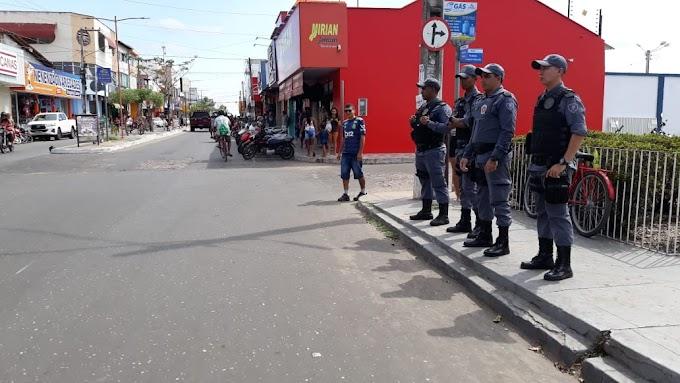 NATAL SEGURO, 16° BATALHÃO AUMENTA O EFETIVO PARA INTENSIFICAR O POLICIAMENTO DA CIDADE DE CHAPADINHA/MA.