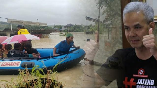 Banjir Kepung Semarang: Bandara Ditutup, 9 Kecamatan Terendam