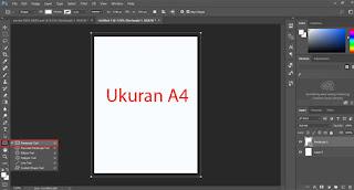 Langkah pertama sobat membuka aplikasi Photoshop