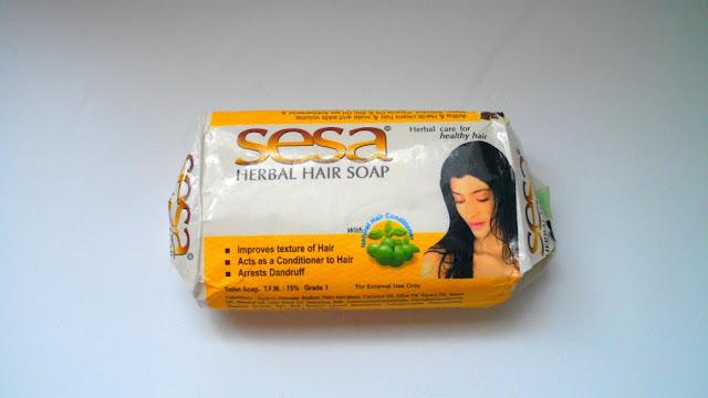 SESA odżywcze mydełko do włosów
