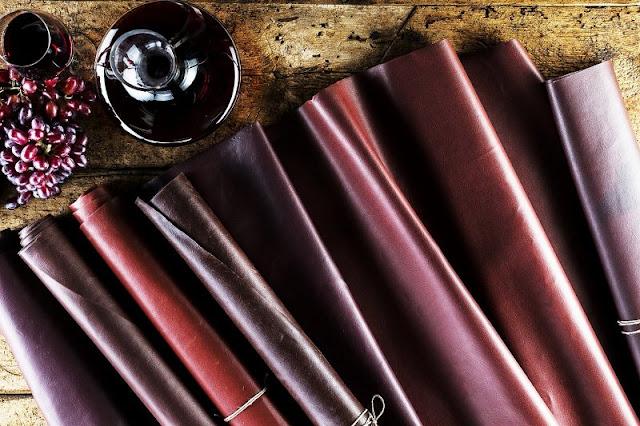 Δέρμα από κρασί. Η νέα οικολογική μόδα που προστατεύει τα ζώα και χρησιμοποιείται και από αυτοκινητοβιομηχανίες