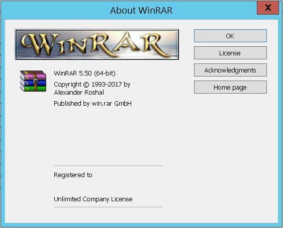 WinRAR 5.5