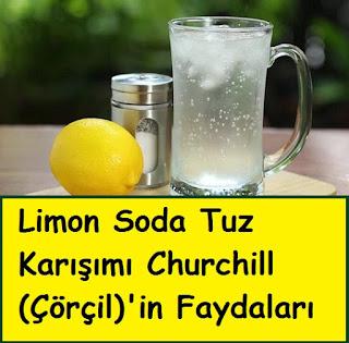 Limon Soda Tuz Karışımı Churchill (Çörçil)'in Faydaları