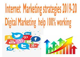 Internet marketing strategies 2019-20