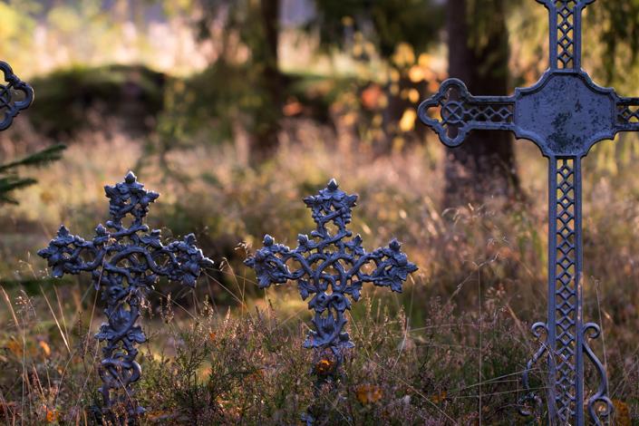 Ortodoksinen hautausmaa Haminassa