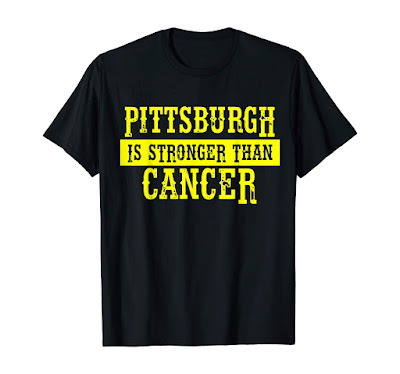 Pittsburgh is stronger than Cancer perfect Cancer Awareness T-Shirt