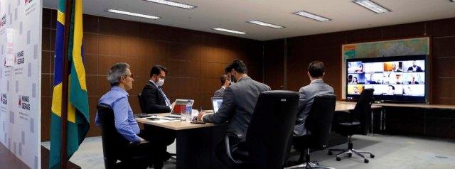 Deputados votados no Vale do Jequitinhonha realizaram conferência remota com o governador para debater o problema.