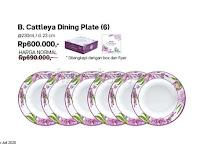 Cattleya Dining Plate Tupperware Promo Juli 2020