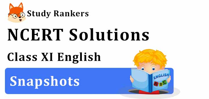 NCERT Solutions for Class 11 English Snapshots