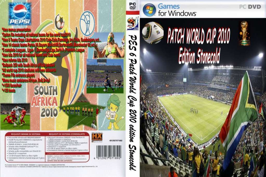 ultigamerz  PES 6 FIFA World Cup 2010 South Africa Add-on + Stadiums 7902848c4